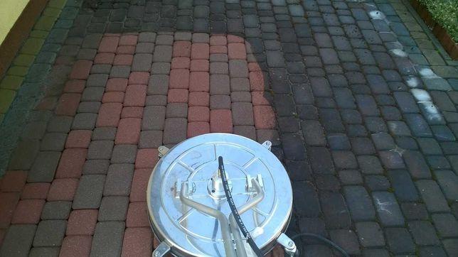 Mycie kostki brukowej, tarasów, podjazdów, chodników