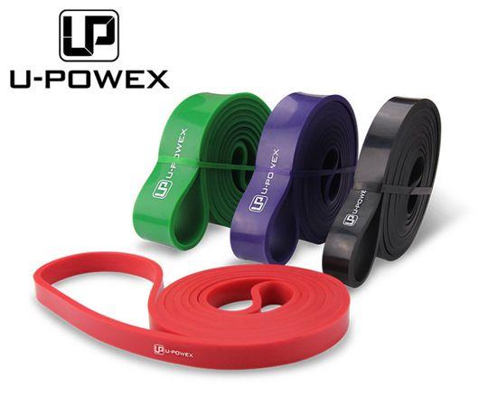 Петли, жгуты для подтягивания U-Powex. Фитнес резинки, кроссфит.