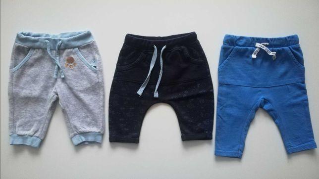 Spodnie niemowlęce 62