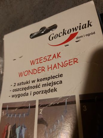 Wieszak-organizer 2 sztuki