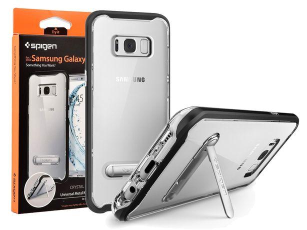 Etui Spigen Crystal Hybrid S8 + / S8 Plus