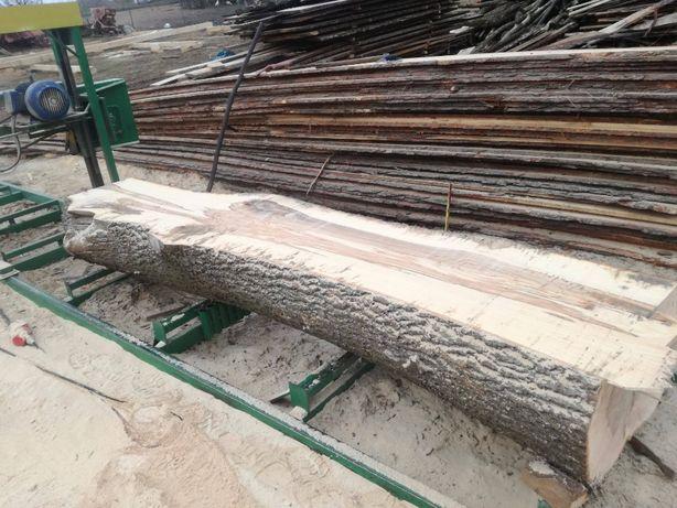Trak taśmowy, Usługa tarcia drzewa, tartak, drzewo, sosna, trak 90 cm!