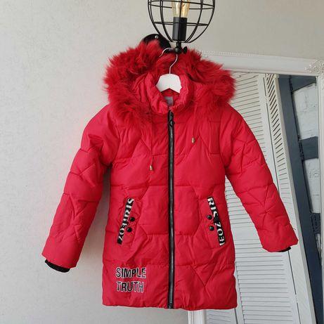 Зимнее пальто на девочку 9-10 лет. Турция