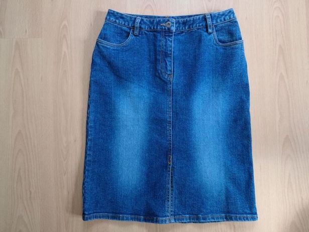Spódnica jeansowa LINDEX roz. 36 z laicrą