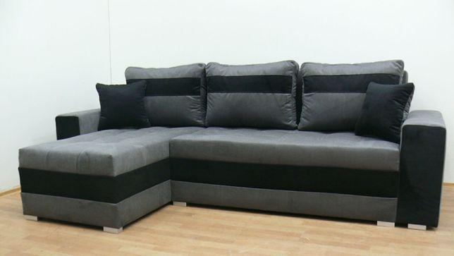 Nowy narożnik w 24h sofa kanapa tapczan wersalka rogówka funkcja spani