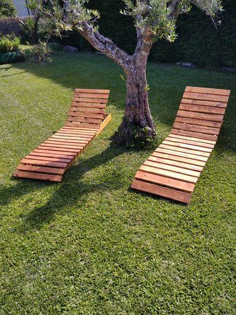 Espreguiçadeira madeira  Top