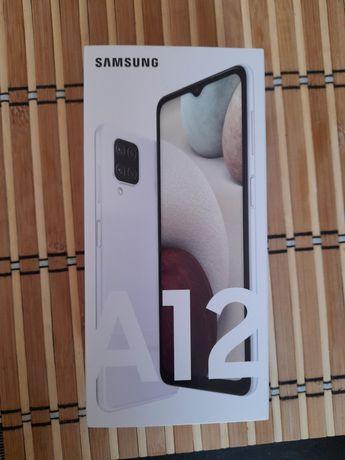 Samsung A12 , BIAŁY,  NOWY, dual sim