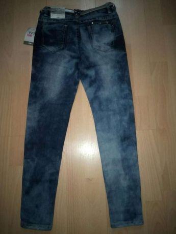 Modne Jeansy z ćwiekami