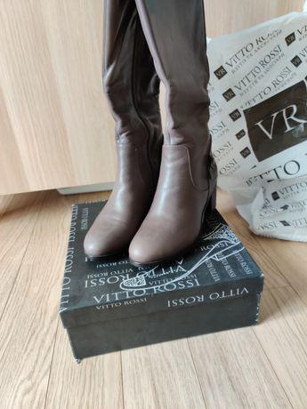 Женские сапоги VITTO ROSSI, натуральная кожа, 38 размер