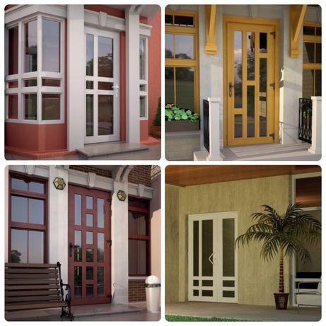 Двери входные, двери межкомнатные, металлопластиковые и алюминиевые.