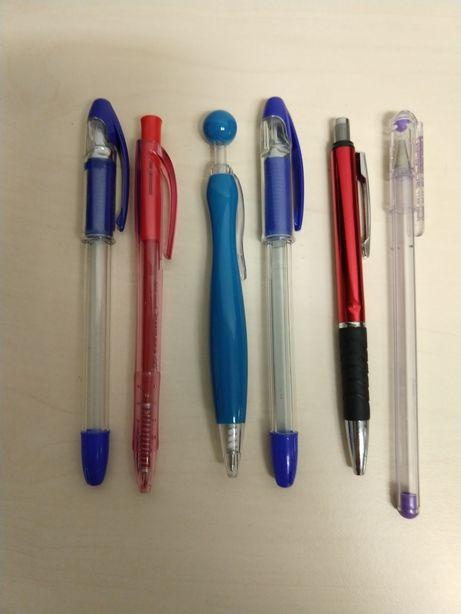 Długopisy bez wykładów