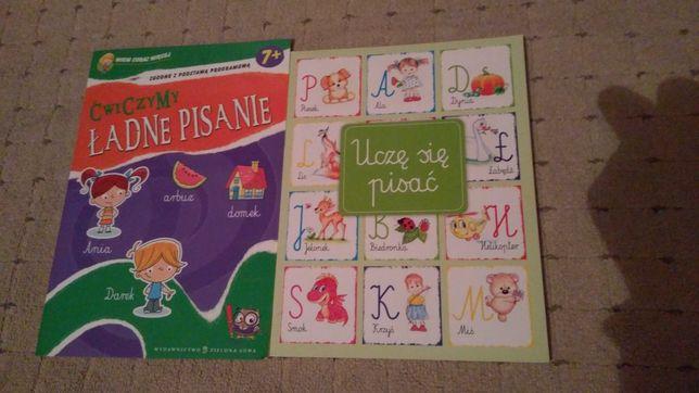 Ćwiczenia nauka literek,pisania,liczenia,edukacja wczesnoszkolna