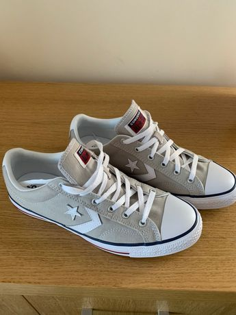 Buty Converse Star Player OX Trainers jasne szare nowe