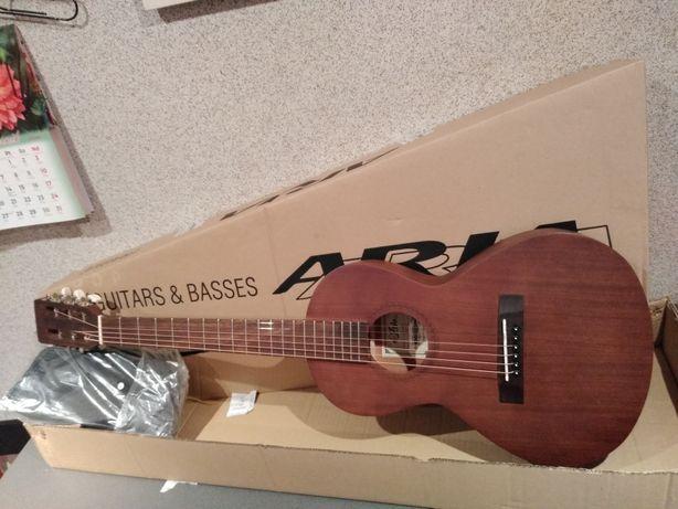 NOWA Gitara akustyczna parlor travel Aria ASA-18H N to brzmienie !!