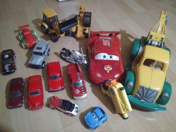 Hot Wheels zjazd wyczynowy + samochodziki