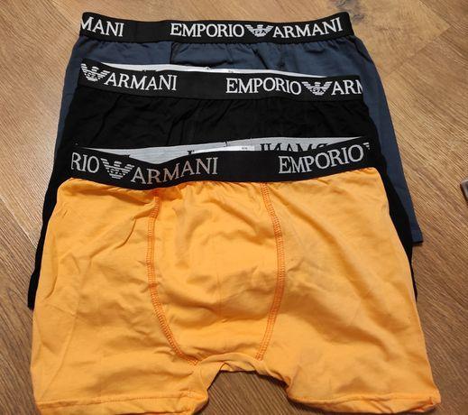 Bokserki 3Pak Emporio Armani Nowe Logowane M-Xxl