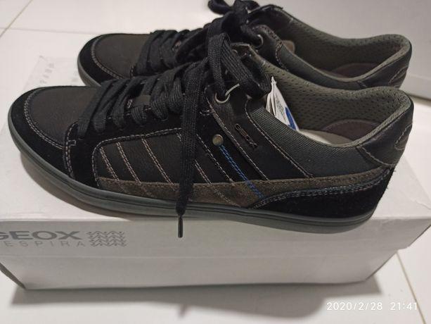 Новые!Туфли сникерсы мокасины geox мужские. Оригинал