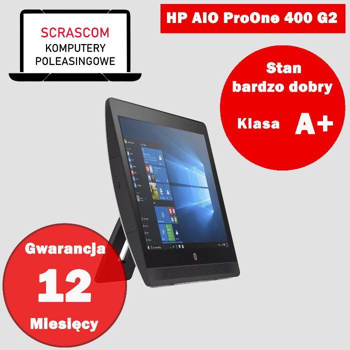 Komputer AIO HP 400 G2 I3 8GB 240GB SSD 20 cali Windows 10 64bit GW12m Wrocław - image 1