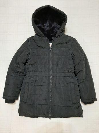 Зимняя теплая куртка, пальто M&S р.122-128