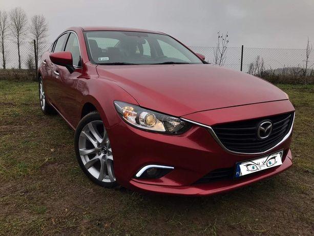 Mazda 6 2.5i 192KM/SkyPassion/benzynka/skora/led/navi/zamiana