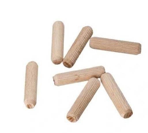 Kołki drewniane meblowe montażowe 8mmx35mm 100 sztuk