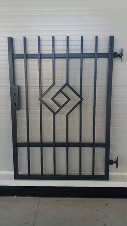 Brama uchylna+bramka