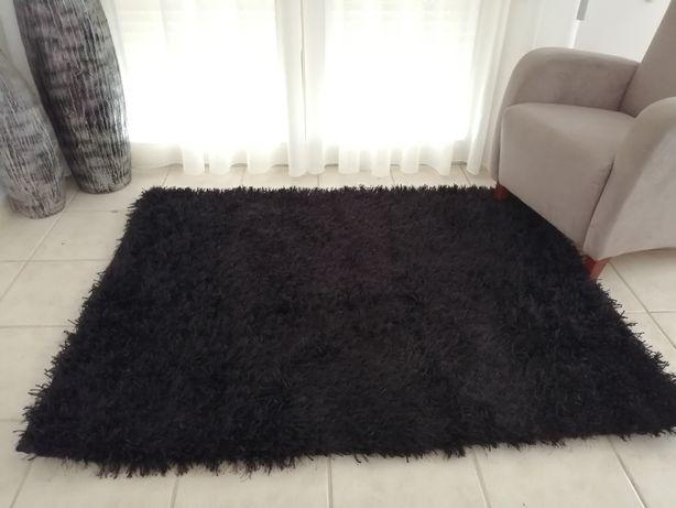 Carpete preta (1.20x1.60) com base rígida