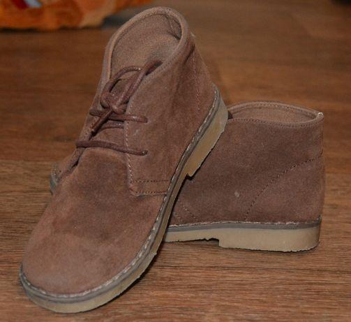 ботинки замшевые деми