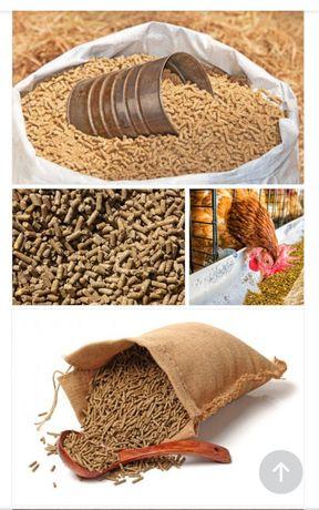 Услуги гранулирования корма