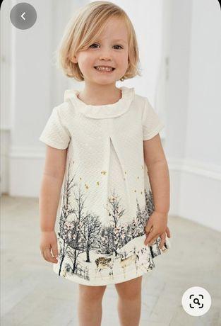 Piękna sukienka NEXT 12-18 miesięcy 86