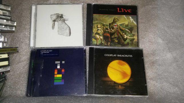Coldplay / Live /Tom Jones/CD диск з Англіі (Rtv mar)