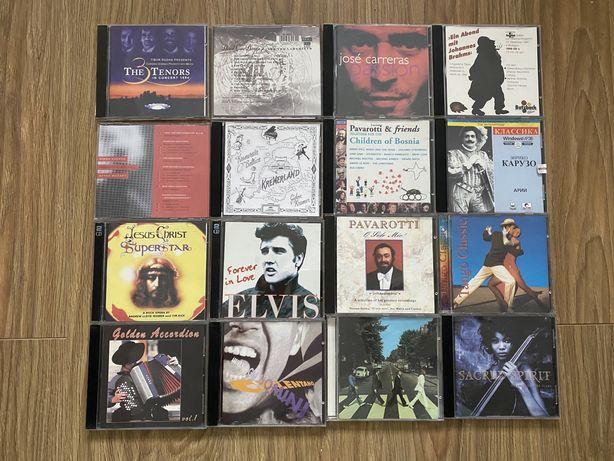 CD и DVD диски классика и рок