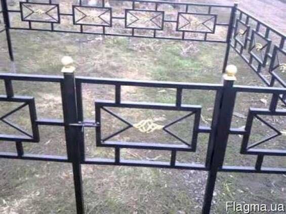 Изготовление оград ритуальных