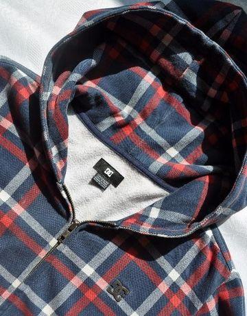 bluza chłopięca DC SHOES r.146-152 rozpinana z kapturem 8-10 lat