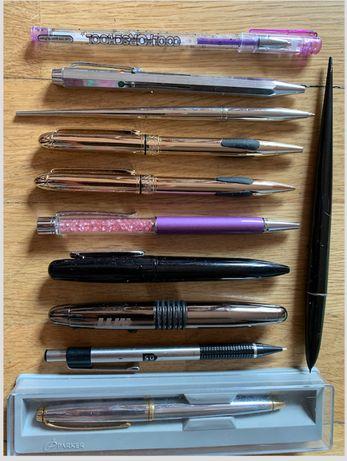 Ручки шариковые, гелевые, ножницы