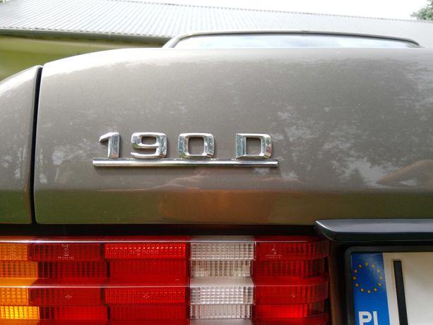 Sprzedam Mercedes 190D 2 L diesel 1993 rok