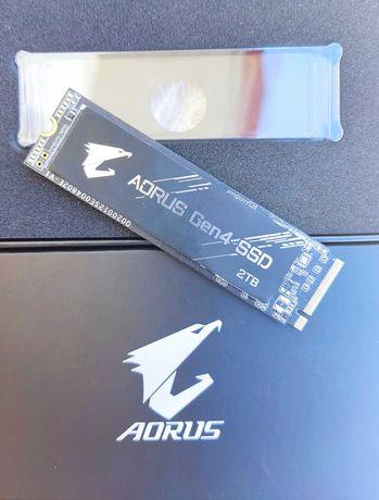 Disco SSD m.2 NVMe Gigabyte Aorus 2TB Gen 4.0