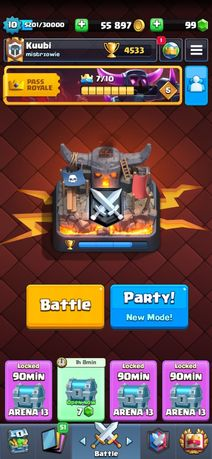Clash royale *opis*