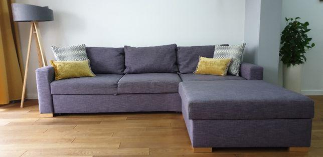 Narożnik, który może być sofą! Rozkładany - 3 w jednym