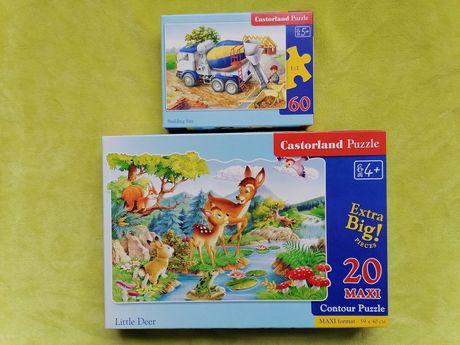 Развивающие игры игрушки для детей пазлы Касторленд Castorland