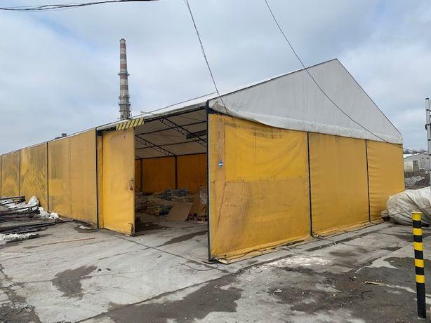 Namiot Magazynowy, Wiata Handlowa, Garaż Przemysłowy 25m x 10m x 3/5m