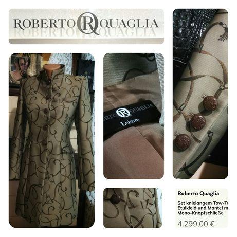 Швейцарское дизайнерское пальто ROBERTO QUAGLIA