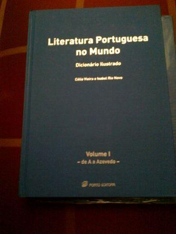 literatura portuguesa dicionário ilustrado porto editora 8 livros