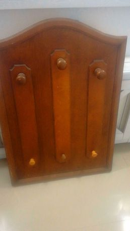 dębowy wieszak antyk garderoba prawdziwe drewno