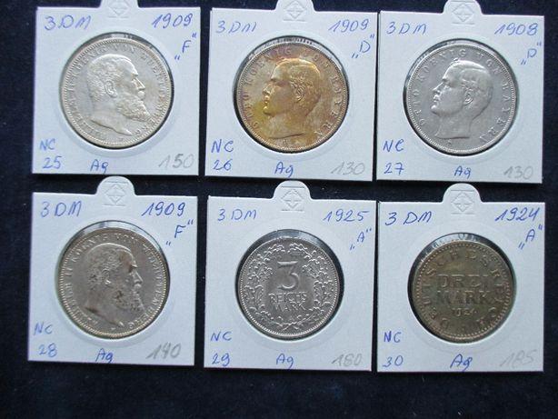 Zestaw srebrnych monet .Oryginały !!! 65