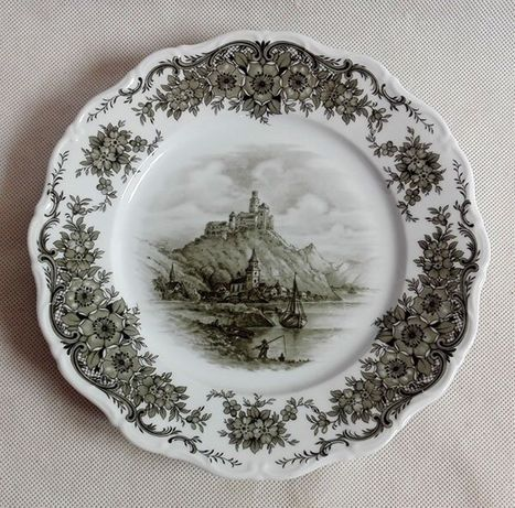 Porcelanowy talerz- Seltmann Weiden