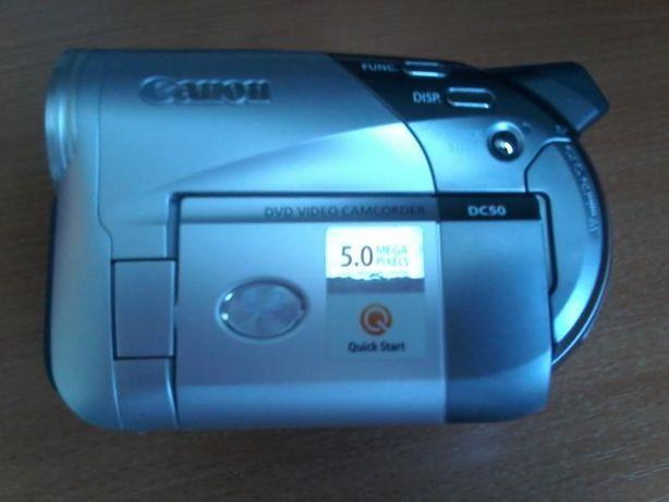 продам новую цифровую видеокамеру Canon DC50