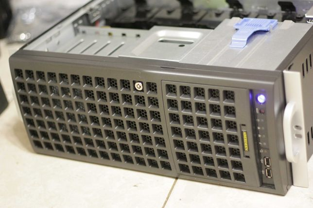 Стоечный Rack-mount сервер Supermicro 4U LGA3647 Xeon Platinum 2x8171M
