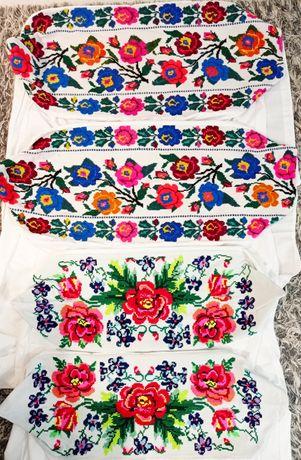 LUDOWE poszewki na poduszki haft ręczny