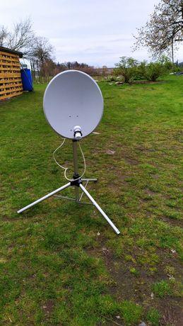 Antena satelitarna TechniSat z LMB i statywem